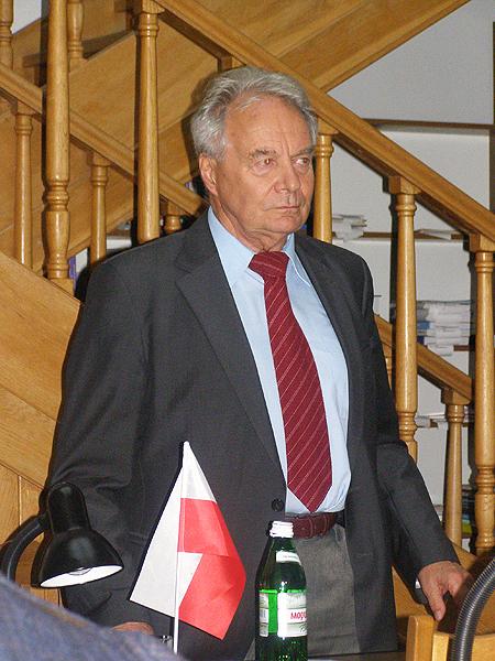 Prelegent prof. Stanisław Marian Waltoś (Fot. Jurij Smirnow)