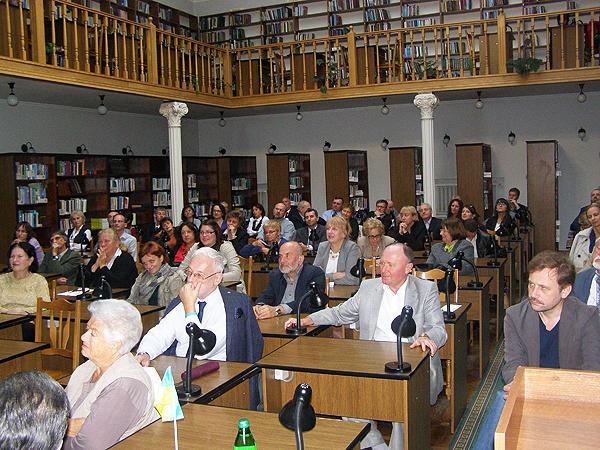 Uczestnicy XXVI Spotkania Ossolińskiego (Fot. Jurij Smirnow)