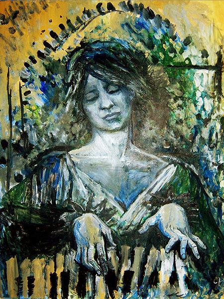 """Pianistka"" Jessica Lynn Salinas (Fot. jessicalynnsalinas.deviantart.com)"