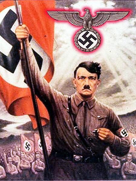 Narodowy socjalizm wg Adolfa Hitlera (Fot. nautilus.org.pl)