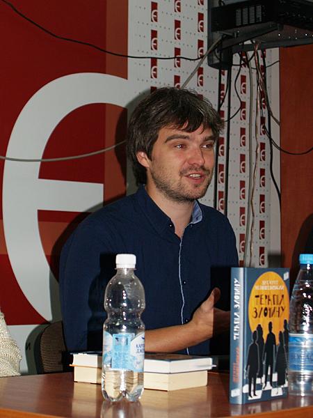 Autor powieści kryminalnych Zygmunt Miłoszewski (Fot. Eugeniusz Sało)