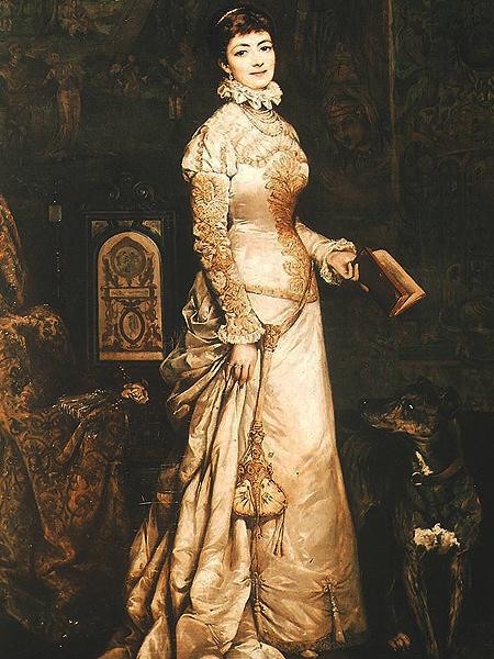 Portret Heleny Modrzejewskiej, Tadeusz Ajdukiewicz (Fot. artyzm.com)