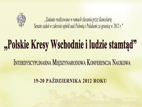 Echa pokonferencyjne – o Kresach w Toruniu