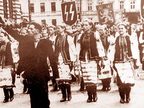 Nacjonalizm - to choroba (Fot. blogs.korrespondent.net)