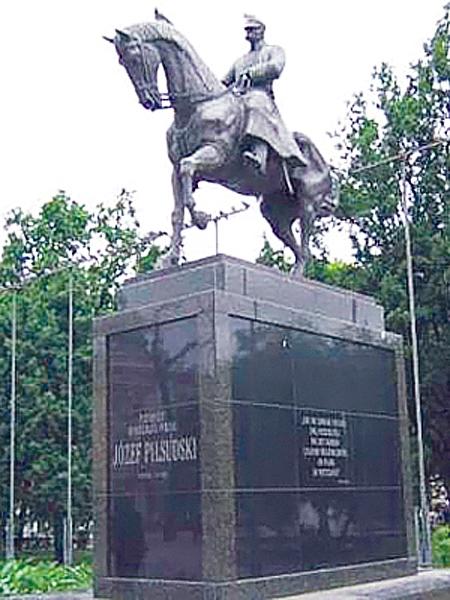 Piłsudski na Kasztance z Lublina (Fot. dziennikpolski24.pl)