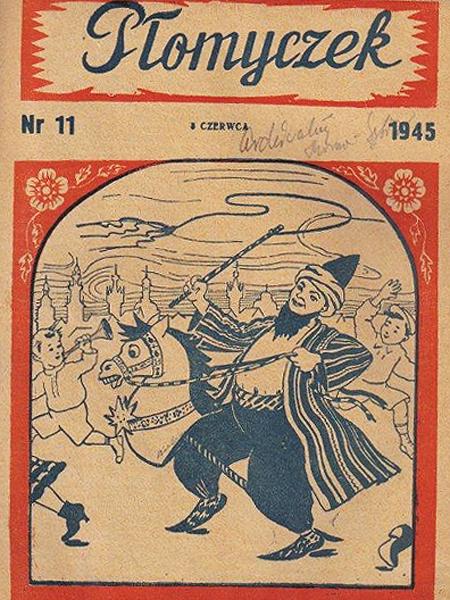 Płomyczek - pisemko wydawane przez Związek Patriotów Polskich dla dzieci polskich wygnańców w ZSRR (Fot. www.poezjasybirska.republika.pl)