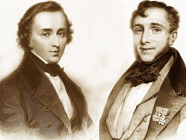Fryderyk Chopin i Friedrich Kalkbrenner