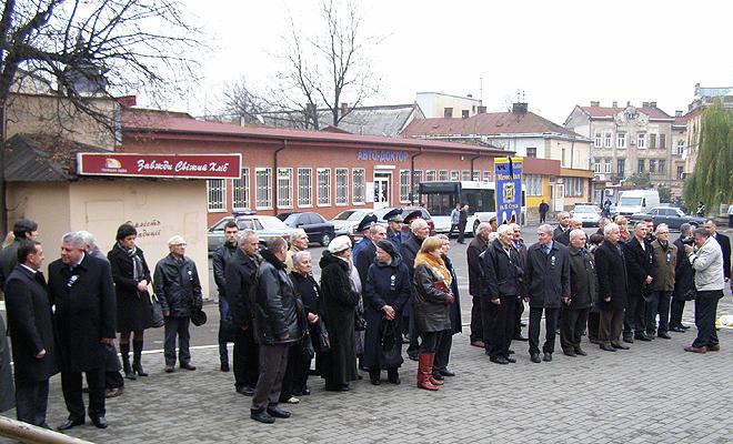 Pamięci ofiar Wielkiego Głodu we Lwowie