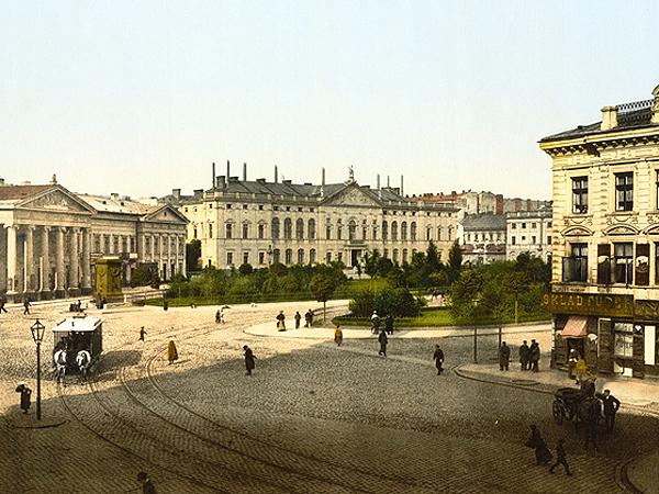 Plac Krasińskich w Warszawie (Fot. warszawa.wikia.com)