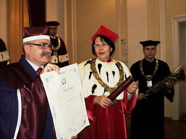 Polscy doktorzy honoris causa uniwersytetu w Drohobyczu