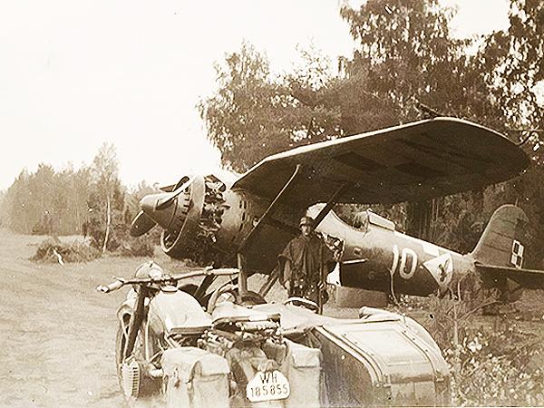 Myśliwiec PZL P-11c. (Fot. sakai.pl)
