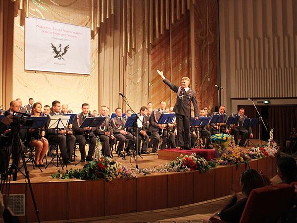 Występ Orkiestry Reprezentacyjnej Polskich Powietrznych Sił Zbrojnych Rzeczypospolitej Polskiej (Fot. Jerzy Wójcicki)