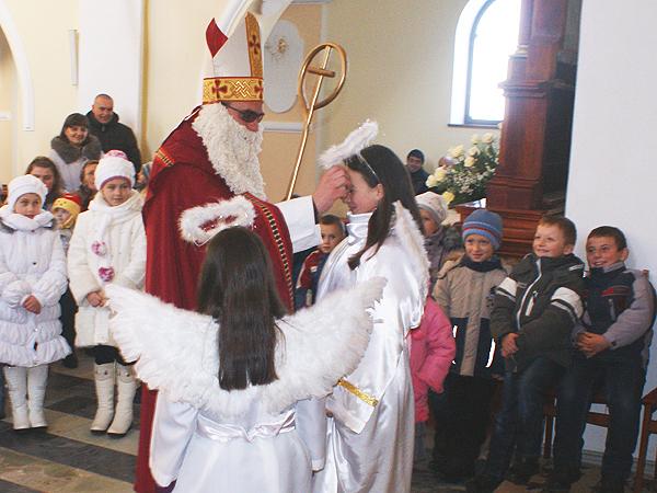 Święty Mikołaj w Łanowicach