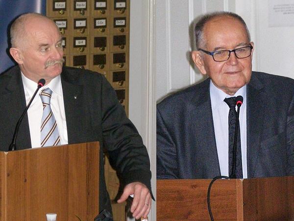 Jan Malicki i Adolf Juzwenko (Fot. Jurij Smirnow)