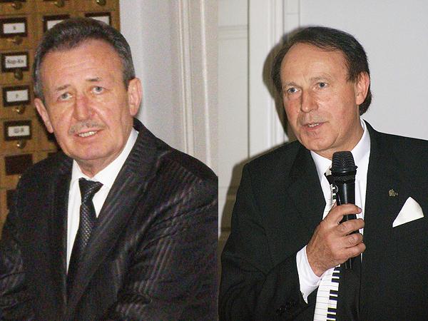 Myrosław Romaniuk i Stanisław S. Nicieja (Fot. Jurij Smirnow)