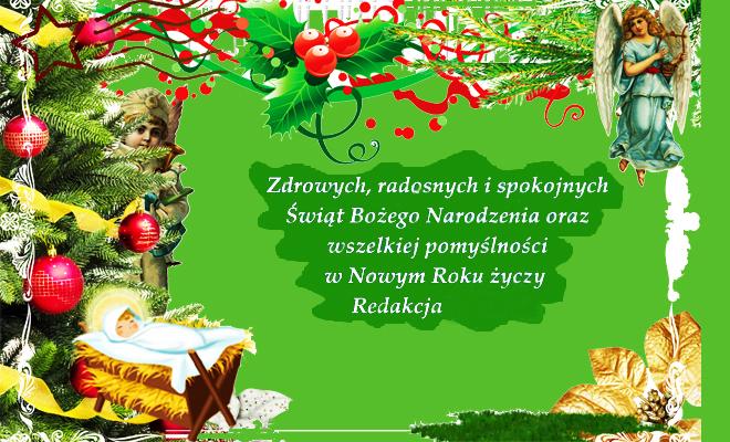 Wesołych Świąt Bożego Narodzenia :)