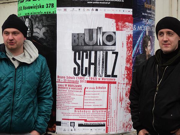 Drohobycz i Schulz w Warszawie