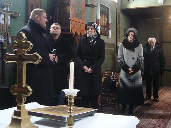 W cerkwi greckokatolickiej w Lublinie (Fot. Archiwum Centrum UCRAINICUM)