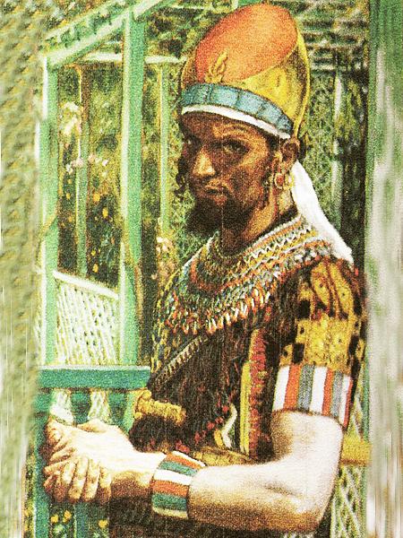 """Portret Heroda Wielkiego – XIX-wieczna ilustracja ( """"Atlas miejsc biblijnych"""" – wyd. PWN, Warszawa. 2007)"""