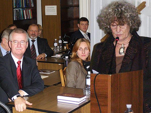 Jarosław Drozd, Agnieszka Sawicz i Emilia Chmielowa (Fot. Jurij Smirnow)