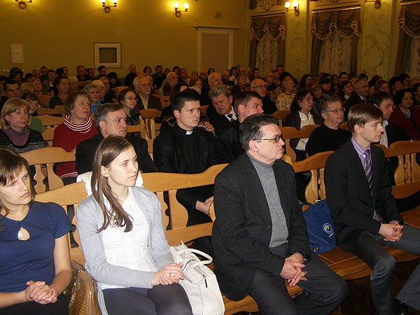 Na sali Konserwatorium (Fot. Jurij Smirnow)