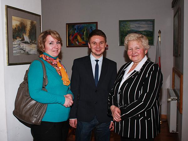 Lucyna Botwina, Eugeniusz Sało i Helena Marczukiewicz (Fot. Włada Niewierowicz)