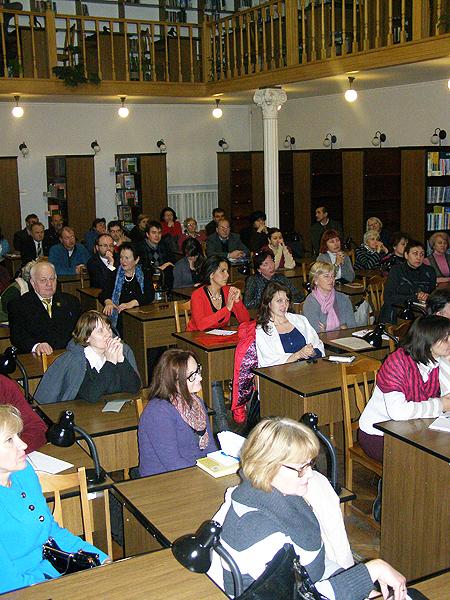 Sala słucha bardzo uważnie (Fot. Jurij Smirnow)