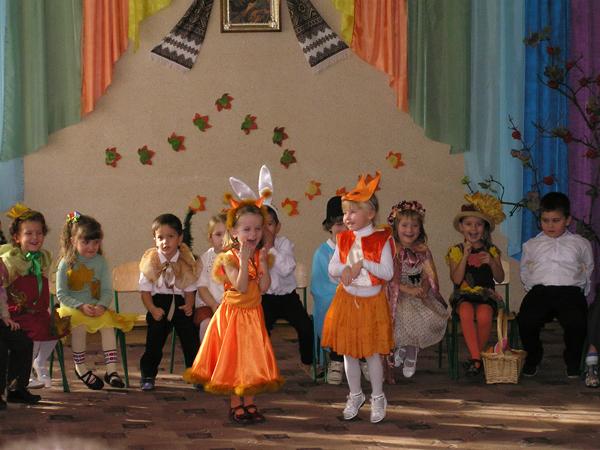 Jesienny bal dla przedszkolaków