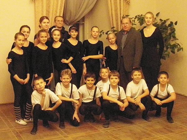 Szkolenia tancerzy