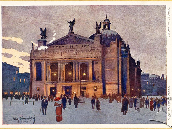Jak Teatr Miejski we Lwowie otwierano