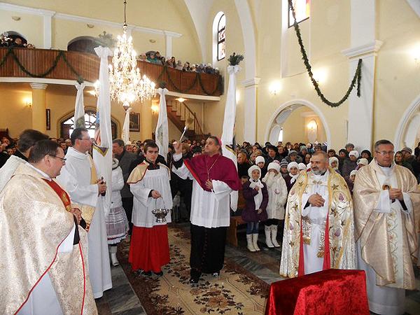 Jubileusz parafii w Łanowicach