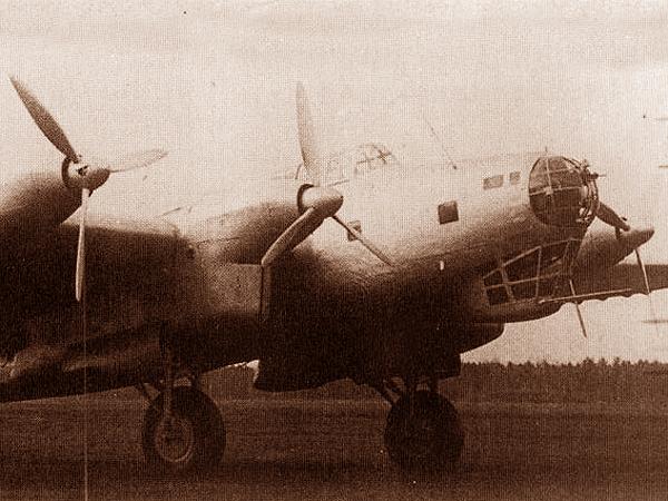 Bombowiec Ant 42 zwany też P-8 (Fot. pl.wikipedia.org)