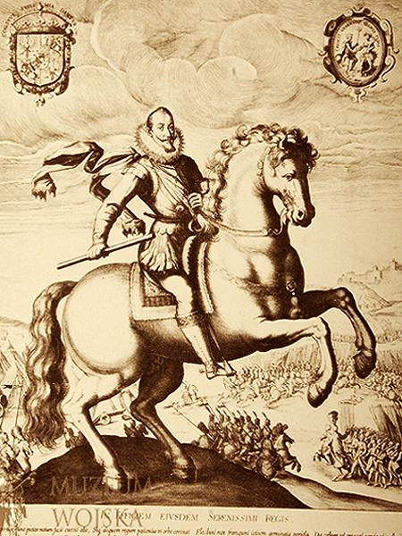 Zygmunt III Waza podczas bitwy pod Guzowem, 1607 (Fot. muzeumwp.pl)