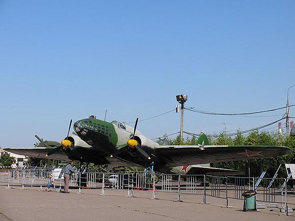 Bombowiec IŁ-4 (Fot. pl.wikipedia.org)