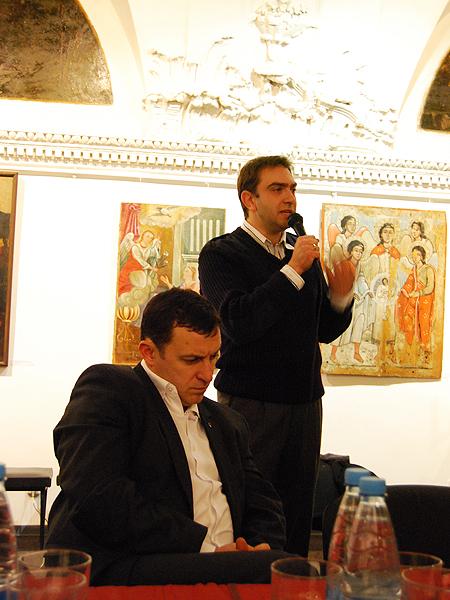 Jurij Kuczeriawyj: Galicjanin  - to identyfikacja regionalna (Fot. Konstanty Czawaga)