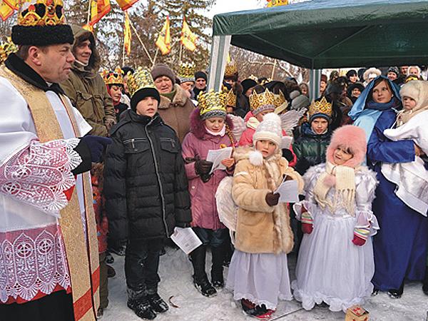 Katolicy Chmielnickiego mają nową tradycję