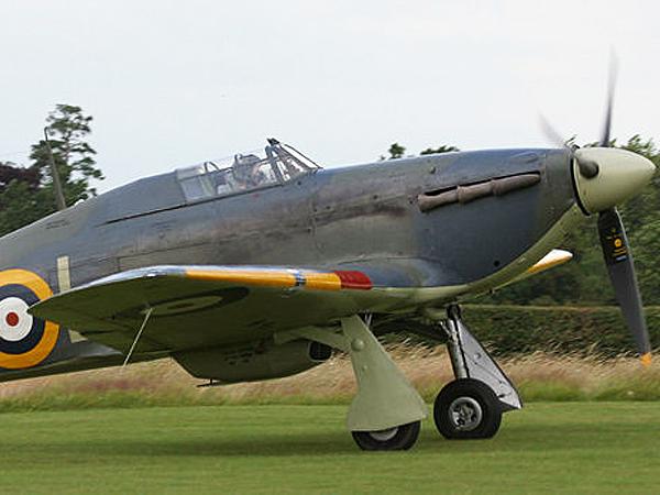 Brytyjski myśliwiec Hurrican (Fot. pl.wikipedia.org)