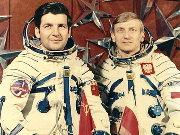 Mirosław Hermaszewski i Piotr Klimuk (Fot. eastnews.pl)