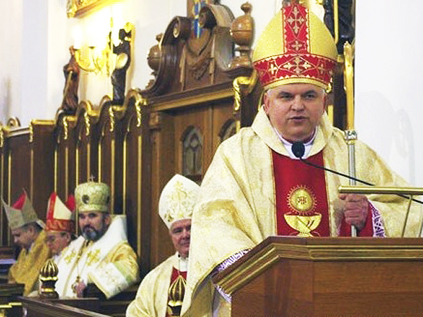 Sakra biskupia w Odessie
