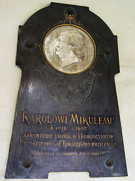 Tablica pamiątkowa na ścianie Katedry Ormiańskiej we Lwowie (Fot. pl.wikipedia.org)