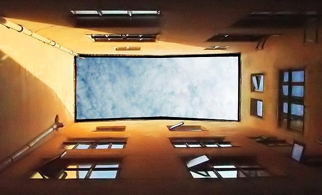 Okno z widokiem na Lwów