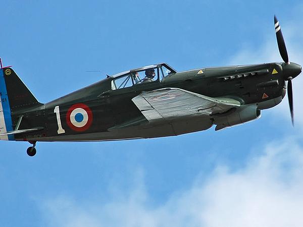 Francuski myśliwiec Morane Saulnier (Fot. pl.wikipedia.org)