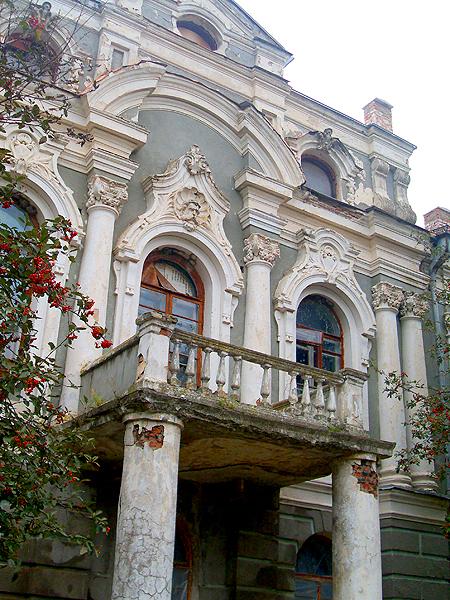 Stara Pryłuka, balkon (Fot. Walery Istoszyn)