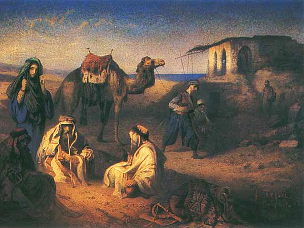 Franciszek Tepa, Odpoczynek Beduinów (własność prywatna)