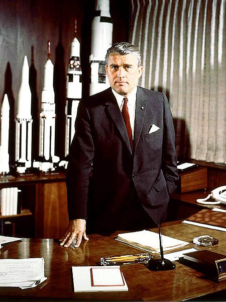 Werner von Braun (Fot. en.wikipedia.org)
