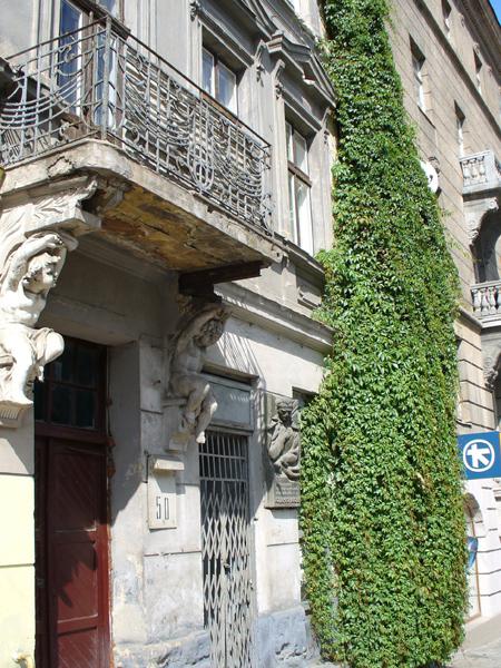 W tym domu, we Lwowie Antonycz mieszkał w latach 1928-1937 (Fot. Konstanty Czawaga)