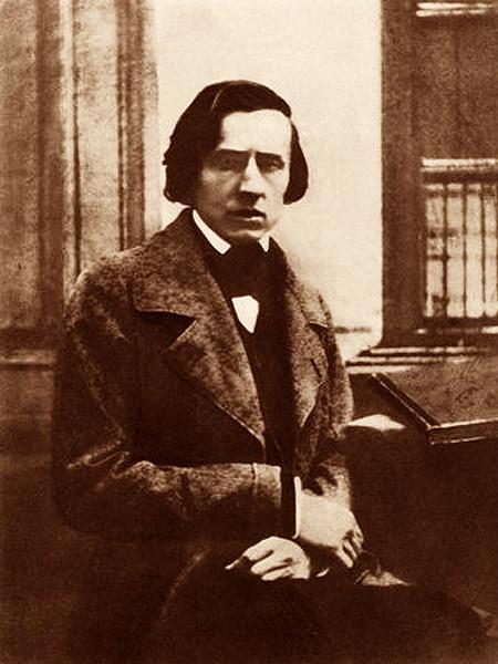 Fryderyk Chopin, Paryż 1849 r. (Fot. wp.pl)