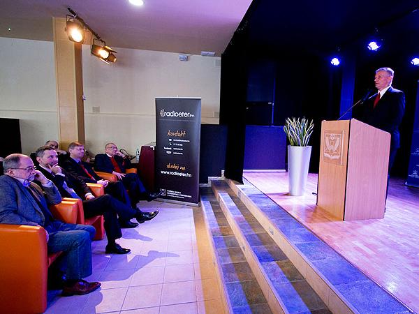 Podczas wykładu (Fot. wsiz.rzeszow.pl)