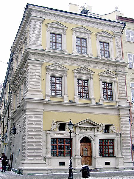 Kamienica Bandinellich na lwowskim Rynku (Fot. Krzysztof Szymański)