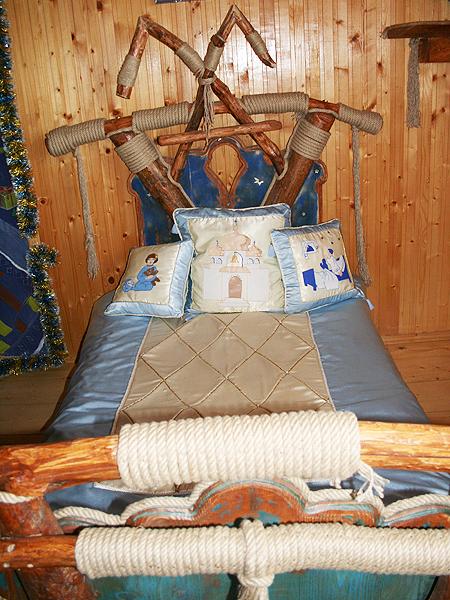 Łoże św. Mikołaja i czarodziejskie poduszki (Fot. Sabina Różycka)